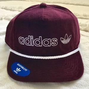 NWT Adidas Originals Velvet Timers Snapback Cap